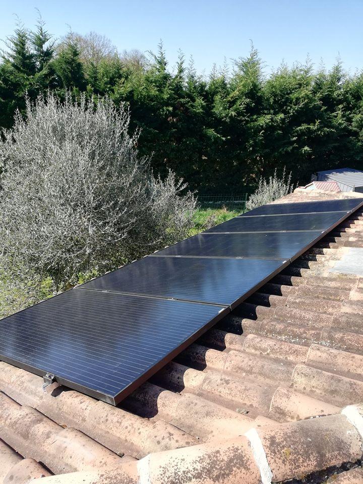 installation panneau photovoltaïque gers
